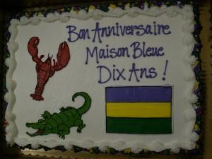Maison Bleue's cake