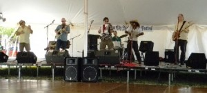 Monsieur Guillaume & His Zydeco Hepcats at the Marine City Festival 2011