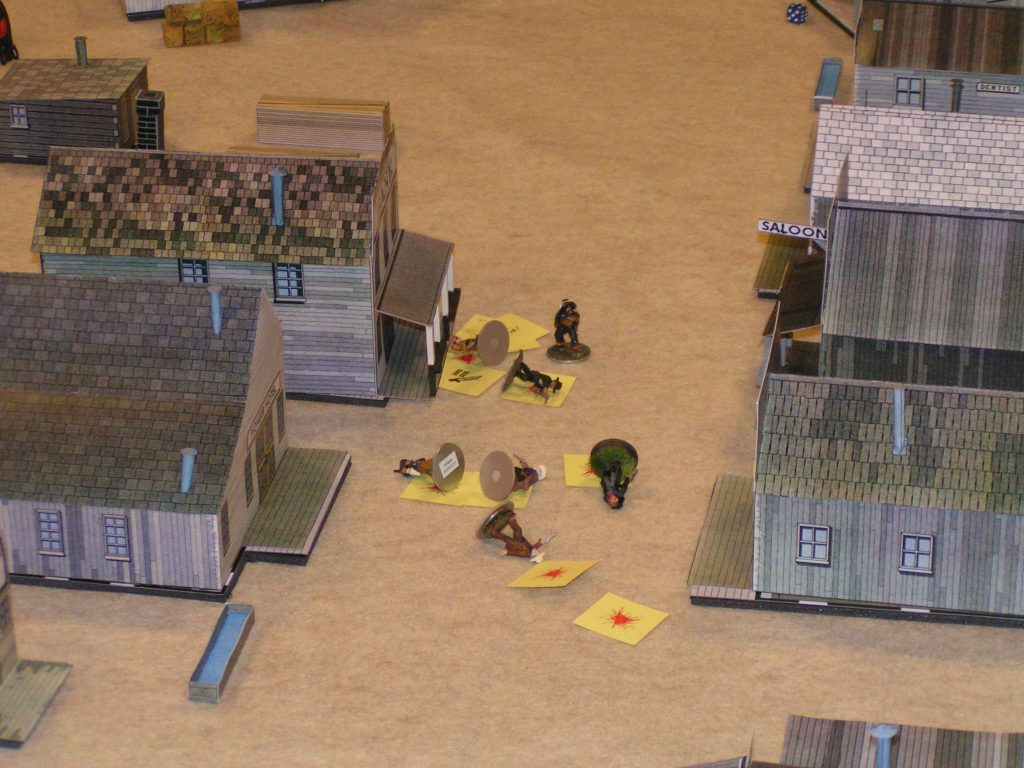 Dead minis in the streets of Whitewash City