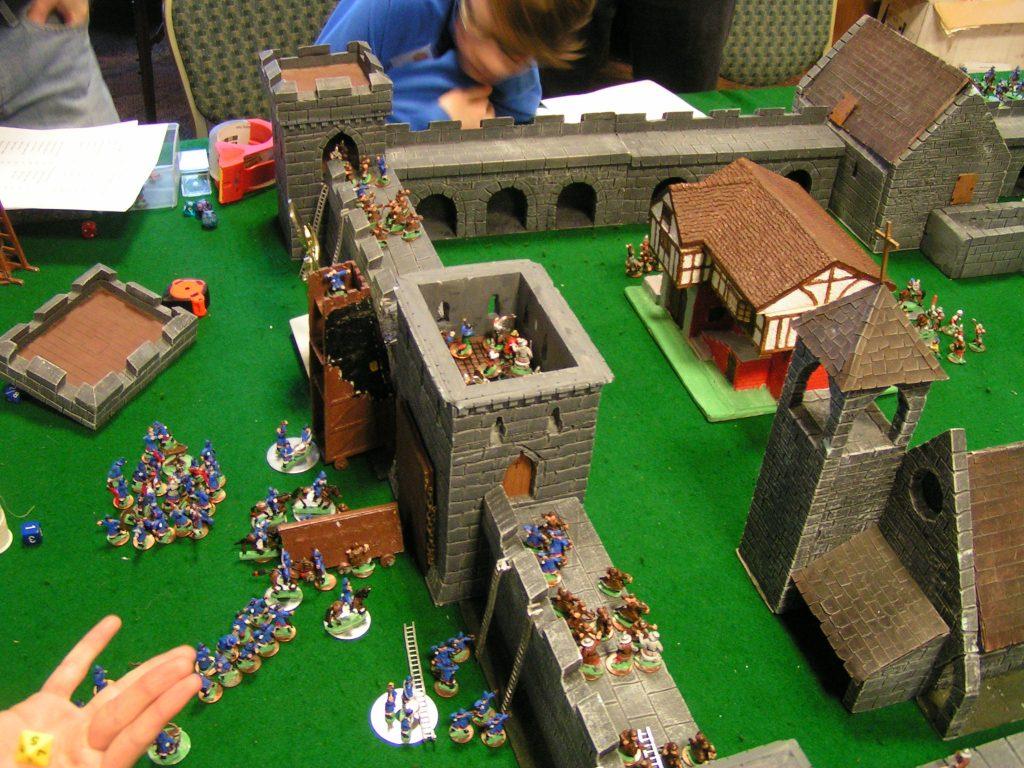 The Mongols storm the castle!