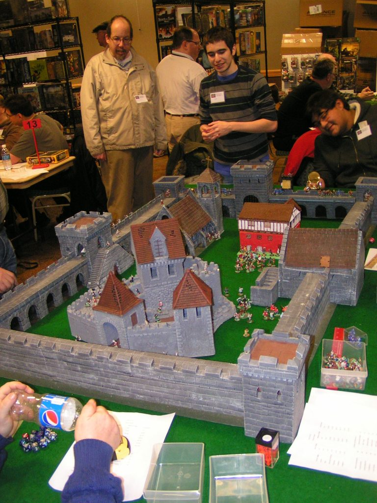 """Vic Hiris' castle used for """"Siege of Budapest"""""""