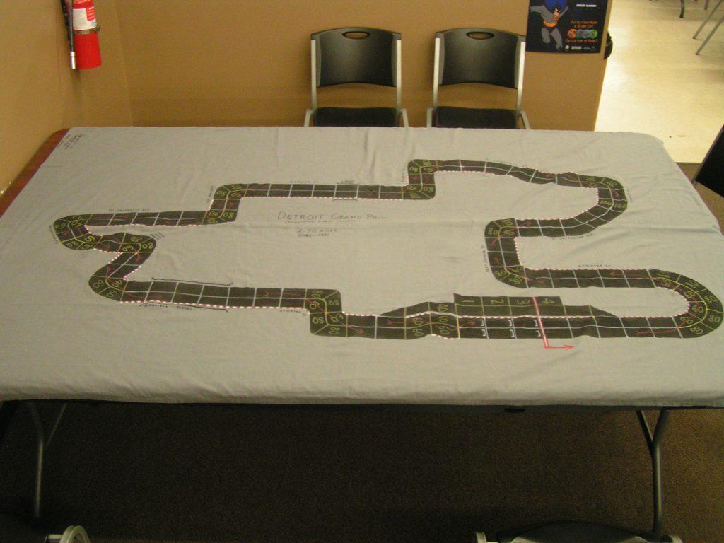 Detroit Grand Prix track