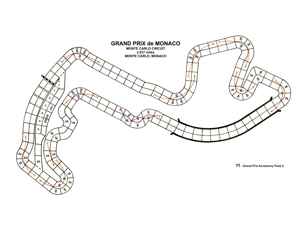 The Monte Carlo track we used to race on.