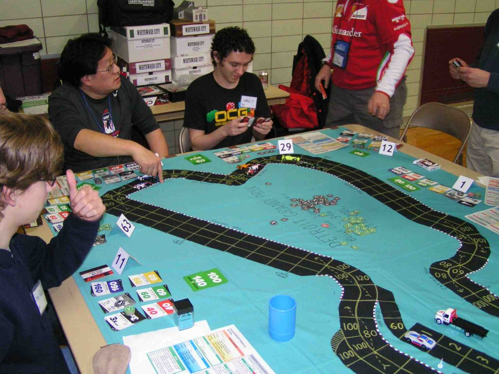Belle Isle track at FlintCon