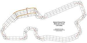 Belle Isle CFR track