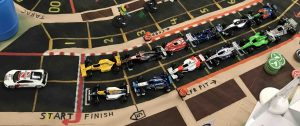 Starting grid for the Monaco G.P.