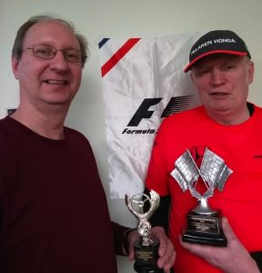 Worrel and Kaluzny receive trophies