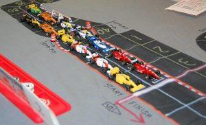 Starting grid at Detroit