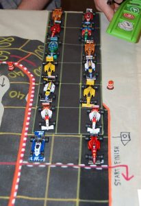 Starting grid for the Hungarian Grand Prix