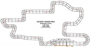 Downtown Detroit track